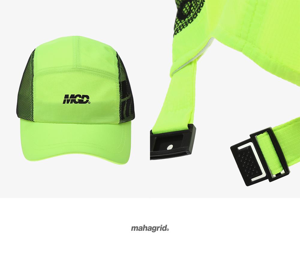 마하그리드(MAHAGRID) MGD CAMP CAP LIME(MG1JSMAB22A)