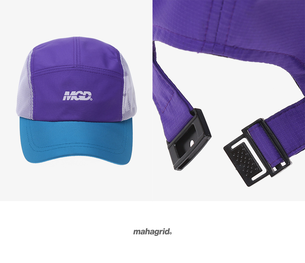 마하그리드(MAHAGRID) MGD CAMP CAP PURPLE(MG1JSMAB22A)