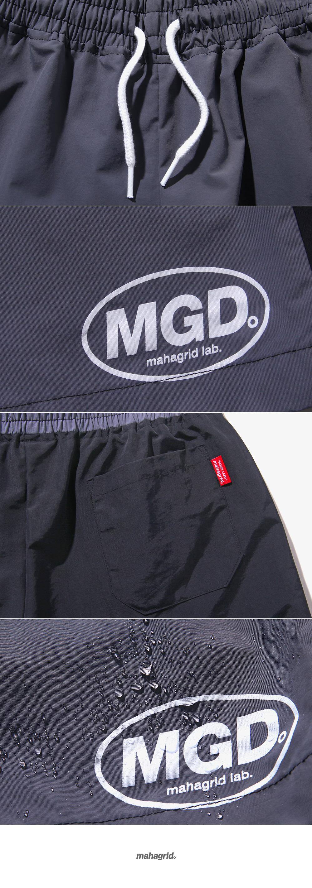 마하그리드(MAHAGRID) COLOR BLOCK SHORTS GREY (MG1JSMPA71A)