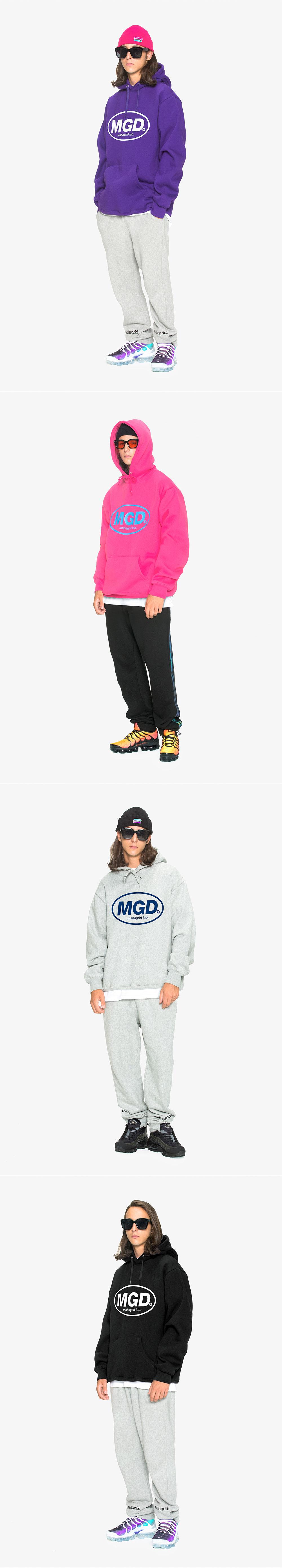마하그리드(MAHAGRID) MGD HOODIE PURPLE(MG1IFMM410A)