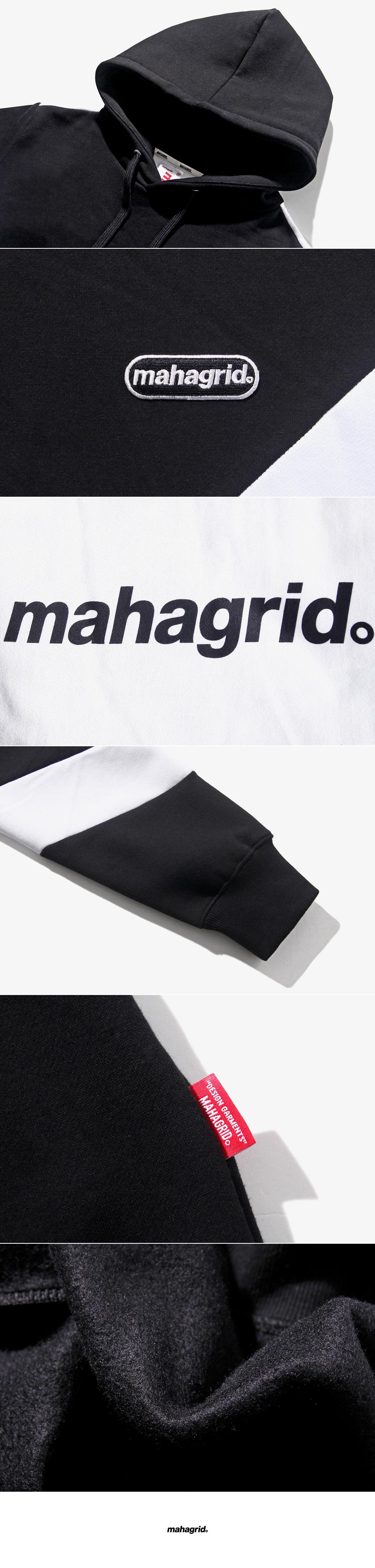 마하그리드(MAHAGRID) MACAN HOODIE BLACK(MG1ISMM413A)