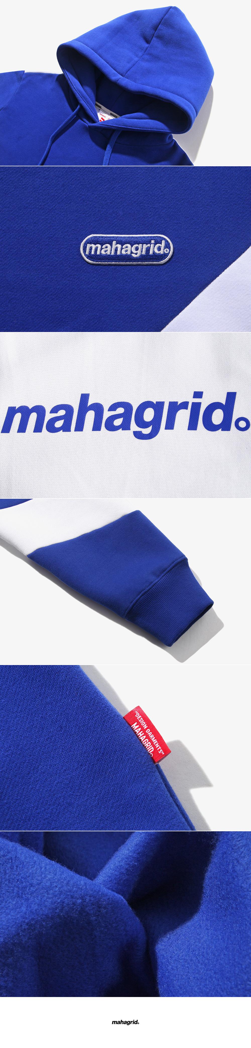 마하그리드(MAHAGRID) MACAN HOODIE BLUE(MG1ISMM413A)