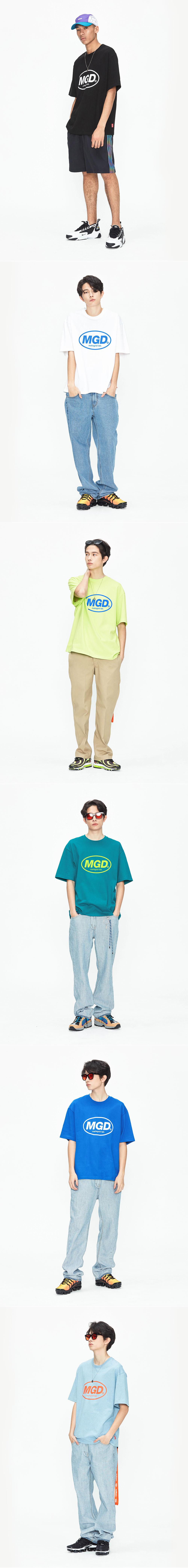 마하그리드(MAHAGRID) MGD TEE PINK(MG1JMMT504A)