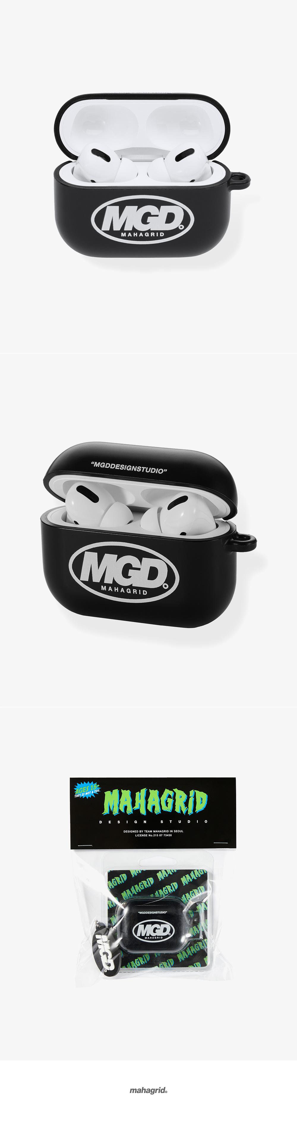 마하그리드(MAHAGRID) MGD AIRPOD PRO CASE BLACK(MG2ASMAB95A)